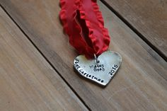 Personalized Christmas Ornament - Heart