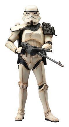 ARTFX Star Wars Sandtrooper Sergeant Statue Figure Kotobukiya Stormtrooper New | eBay
