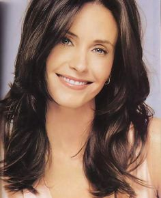 Courteney Cox. Long layers.