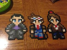 Doctor Who (9th,10th,11th) perler beads by pretty-in-perler on deviantART
