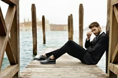 Jamie Dornan for Hogan S/S 2014 Campaign in Venice