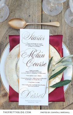 Earthy and elegant - Marsala makes a stunning colour base for bold wedding inspiration