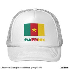 Cameroonian Flag and Cameroon Trucker Hat