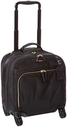 Tumi Voyageur Oslo 4 Wheel Compact CarryOn Black One Size * Visit the image link more details.