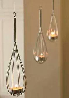 Creative with #candle and #whisk
