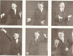 el Histrionismo de Hitler