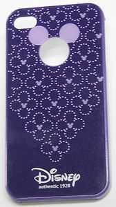 Unique Micky/Minnie Ears Purple Hard Case for #iPhone 4/4S