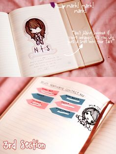 diy school ideas | Heart Handmade UK: Notebook Ideas | DIY School Notebook Planner from ...