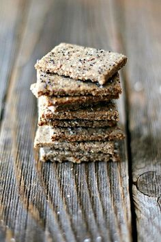 Nut Crackers - gluten free by Heather| French Press, via Flickr
