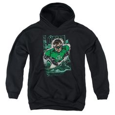"""Checkout our #LicensedGear products FREE SHIPPING + 10% OFF Coupon Code """"Official"""" Jla / Green Lantern #1 Distress-youth Pull-over Hoodie - Jla / Green Lantern #1 Distress-youth Pull-over Hoodie - Price: $49.99. Buy now at https://officiallylicensedgear.com/jla-green-lantern-1-distress-youth-pull-over-hoodie"""