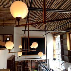 Iluminación, Restaurante DLK Bogotá, Colombia.