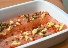 If your not set for #Dinner tonight - try this delicious Salmon & ginger #recipe, with added chilli & capers...