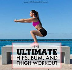 This killer 15-minute lower-body routine is the ultimate in working your fit bottom! | Fit Bottomed Girls