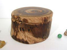 Smoke Bush Wooden Box, wood art, office desk organizer, wood jewelry box, eco gift box, wood anniversary gift, small pet urn, by earnestefforts on Etsy