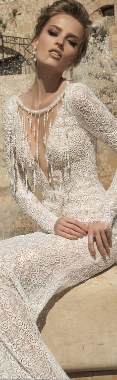 VENETO: Galia Lahav Haute Couture featuring the La Dolce Vita Collection stunning......Bella Donna