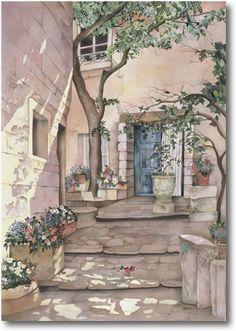 Pomm Fine Art   Watercolor Painting
