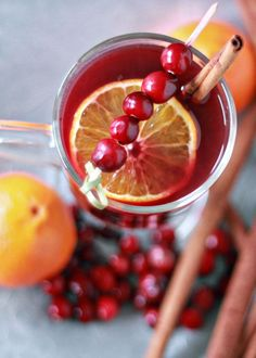 Crock Pot Cranberry-Orange Mulled Wine. Because your house should always smell delicious this time of year.