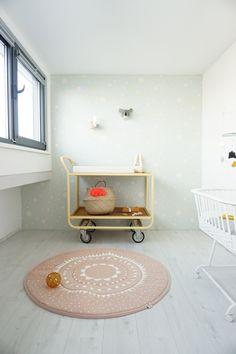 Binnenkijken op de nieuwe babykamer