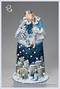 Egupets Olga.  Dolls.  Project December 12