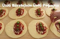 Ünlü Börekçinin Ünlü Poğaçası - İyi Hobi Pizza, Mexican, Ethnic Recipes, Food, Meal, Eten, Meals