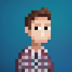 PixelArt Portraits by Lee Occleshaw. Custom made to order on Fiverr.com/leeoccleshaw