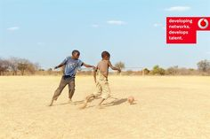 European branding campaign for Vodafone by Ryan Edy