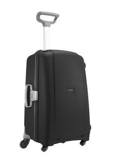 Aeris Black 68cm #Samsonite #Aeris #Travel #Suitcase #Luggage #Strong #Lightweight #MySamsonite #ByYourSide