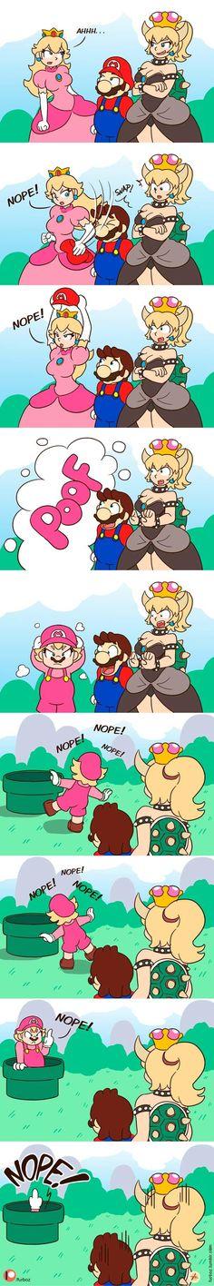 Mario kreslený porno fotky