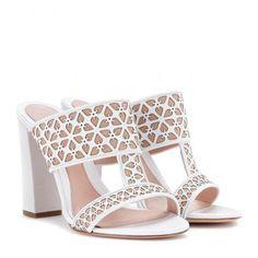 nice. Alexander McQueen - Leather sandals #sandals #alexandermcqueen #women #designer #covetme