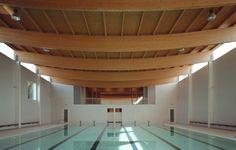 Prototipo de Piscina Cubierta en La Coruña / Francisco Mangado Swimming Pool Prototype in La Coruña / Francisco Mangado – Plataforma Arquitectura