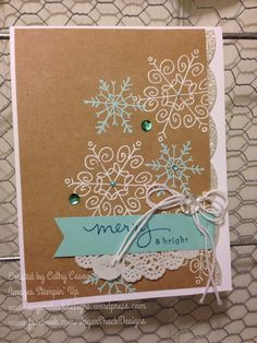 Stampin' Up! Endless Wishes, photopolymer, Cathy 005 (14)