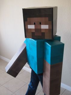 Minecraft Steve Costume | Minecraft Halloween Costumes