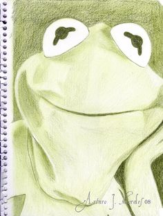 """""""Kermit"""" by ~ArturoJMorales"""