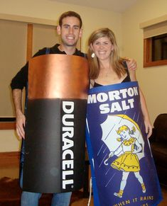 Assault and battery. | 26 Hilariously Clever Halloween Costumes
