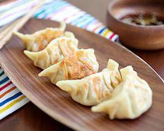 Kimchi Dumplings - Easy Recipes at RasaMalaysia.com