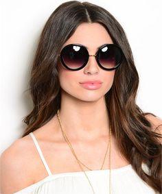 Round Couture Sunglasses Popular Sunglasses, Girl With Sunglasses, Top  Sunglasses, Round Frame Sunglasses d3f3d1ba83