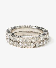 Sparkling Ring Set | FOREVER21 - 1021839849
