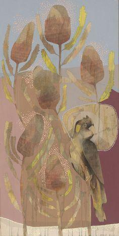 yellow-tailed blackcockatoo and banksia burdettii Botanical Illustration, Illustration Art, Botanical Art, Australian Birds, Australian Artists, Black And White Painting, Cockatoo, Painting Inspiration, Art Inspo