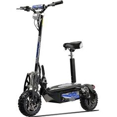 UberScoot Evo-1600 1600w Electric Scooter Black