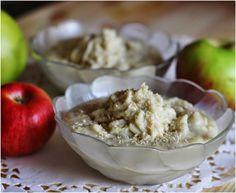 appelsiinejahunajaa: hunaja-kookos omena jälkkäri