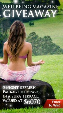 Win a 5 Night Refresh Package for two at Gaia Retreat