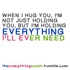 Hug Picture Quotes | Famous Picture Quotes about Hug | Quotes N Sayings