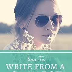 How to Write from a Girl's POV