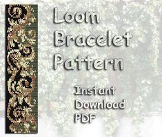 Loom Bead Pattern Bracelet Pattern Seed Beading Pattern