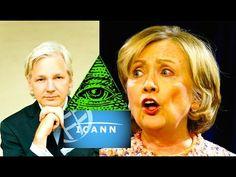 STUNNING SECRET of Julian Assange and Obama's Internet Surrender to ICANN!! (Hillary's Demise) - YouTube