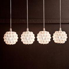 .exnovo, l'innovativo marchio che ha legato la propria immagine alla realizzazione di prodotti di design con tecnologie di stampa 3D, propone la suggestiva lampada Notte ispirata ai satelliti di Plutone.