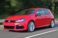 Volkswagen Golf R Hatchback Red