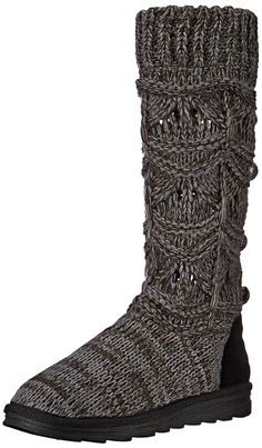 Muk Luks Women's Jamie Crochette Winter Boot ** Startling review available here  : Knee high boots