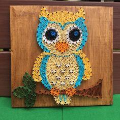 Little-owl-string-art