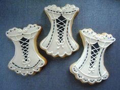 Amazing decorated cookies fit perfectly with the theme! I'll have them in our color combo.